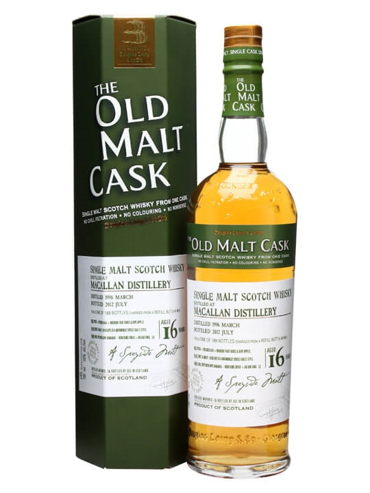 Macallan 1996 / 16 Year Old / Old Malt Cask #8815 Speyside Whisky