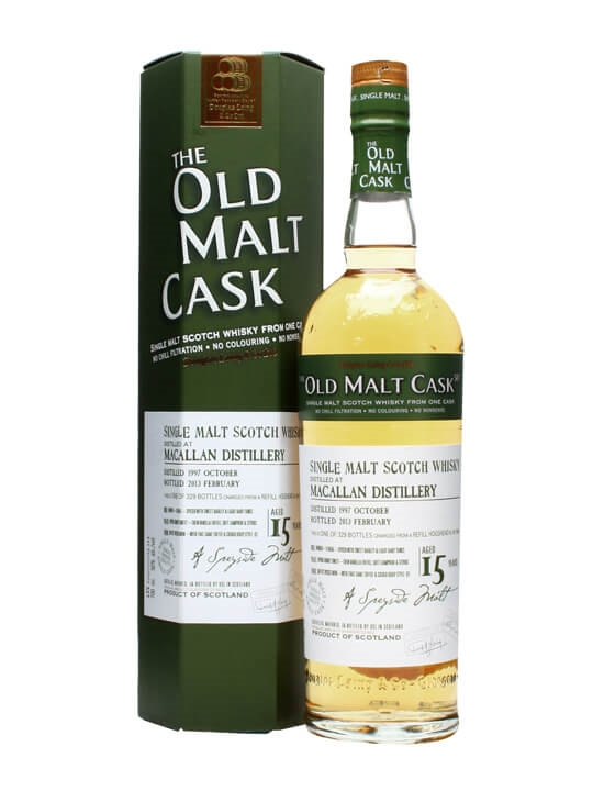 Macallan 1997 / 15 Year Old / Old Malt Cask #9458 Speyside Whisky