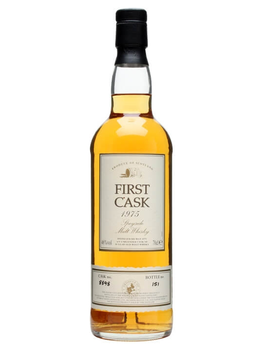 Macallan 1975 / 20 Year Old / Cask #8898 Speyside Whisky