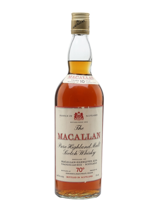 Macallan 10 Year Old / Bot.1970s Speyside Single Malt Scotch Whisky