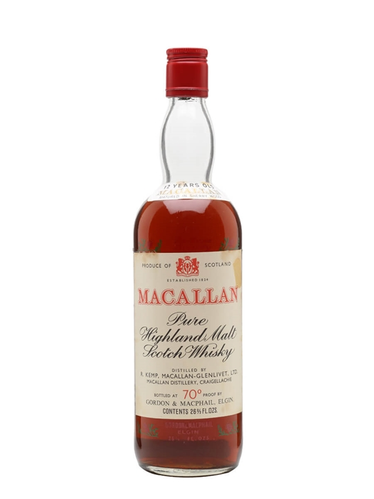 Macallan 12 Year Old / Bot.1970s / Gordon & Macphail Speyside Whisky