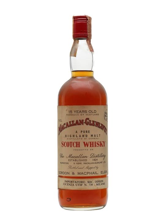 Macallan-glenlivet 15 Year Old / Bot.1970s Speyside Whisky