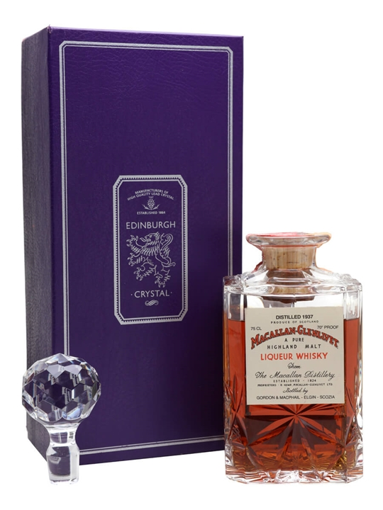 Macallan-glenlivet 1937 / Sherry Cask / Bot.1970s Speyside Whisky