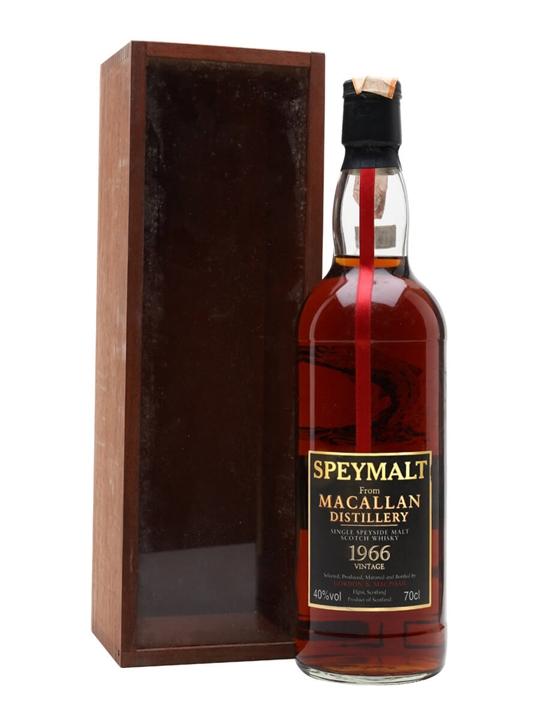 Macallan 1966 / Bot.1998 / Gordon & Macphail Speyside Whisky
