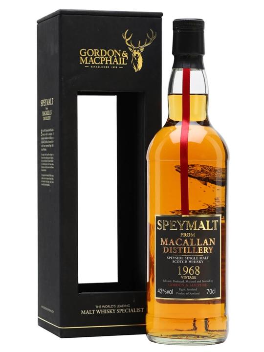 Macallan 1968 / Speymalt / Gordon & Macphail Speyside Whisky