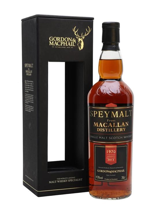 Macallan 1970 / Bot. 2013 / Speymalt Speyside Whisky