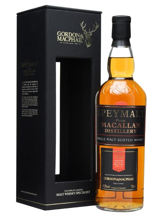 Macallan 1980 / Speymalt / Gordon & Macphail Speyside Whisky