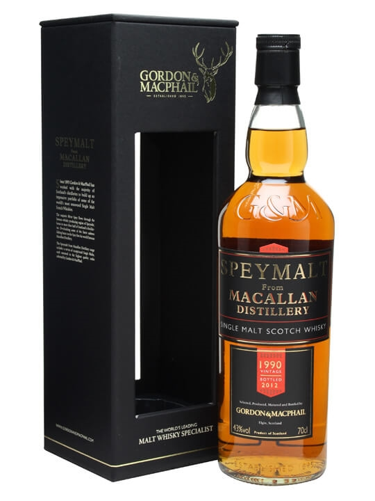 Macallan 1990 / Speymalt Speyside Single Malt Scotch Whisky