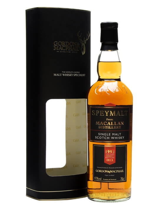 Macallan 1993 / Bot.2013 / Speymalt Speyside Single Malt Scotch Whisky