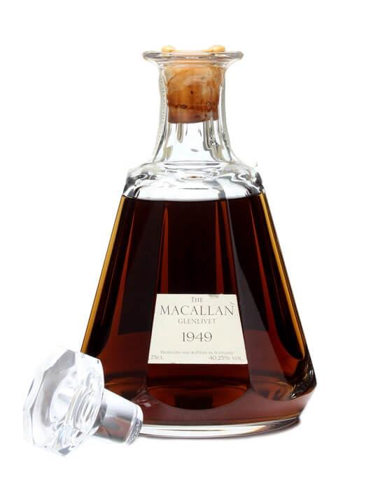 Macallan 1949 / Crystal Decanter Speyside Single Malt Scotch Whisky