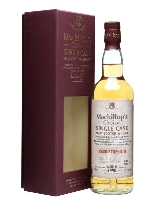 Macallan 1990 / 22 Year Old / Cask #2397 / Mackillop's Speyside Whisky