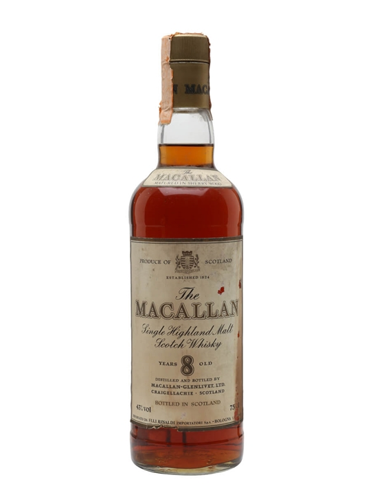 Macallan 8 Year Old / Bot.1980s Speyside Single Malt Scotch Whisky