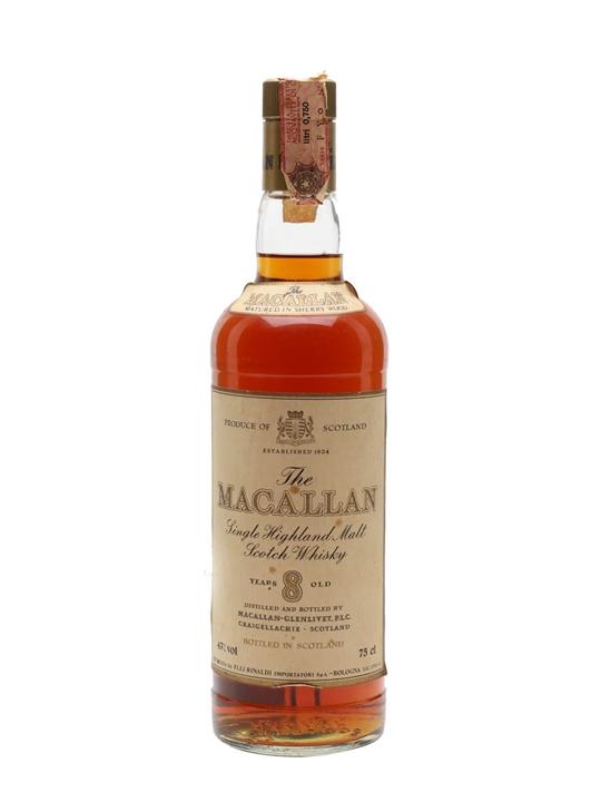 Macallan 8 Year Old / Bot.1980s Speyside Single Malt Scotch Whisky