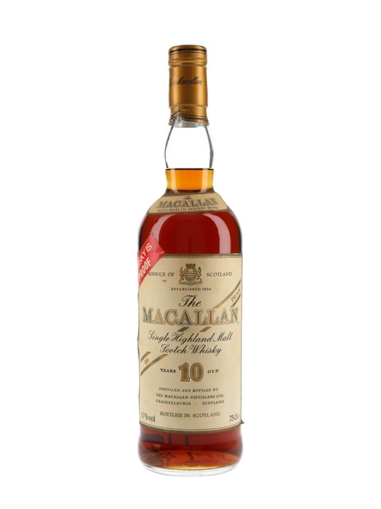 Macallan 10 Year Old / 100 Proof / Sherry Wood / Bot.1980s Speyside Whisky