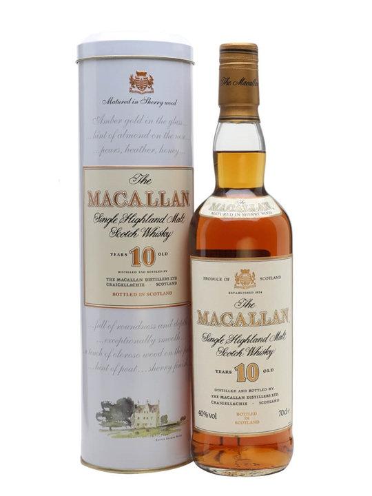 Macallan 10 Year Old / Bot.1990s Speyside Single Malt Scotch Whisky
