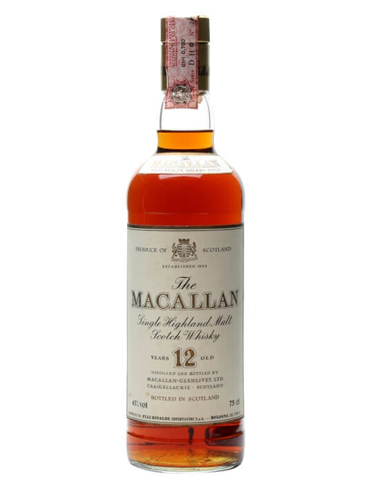 Macallan 12 Year Old / Dark Sherrywood Speyside Whisky