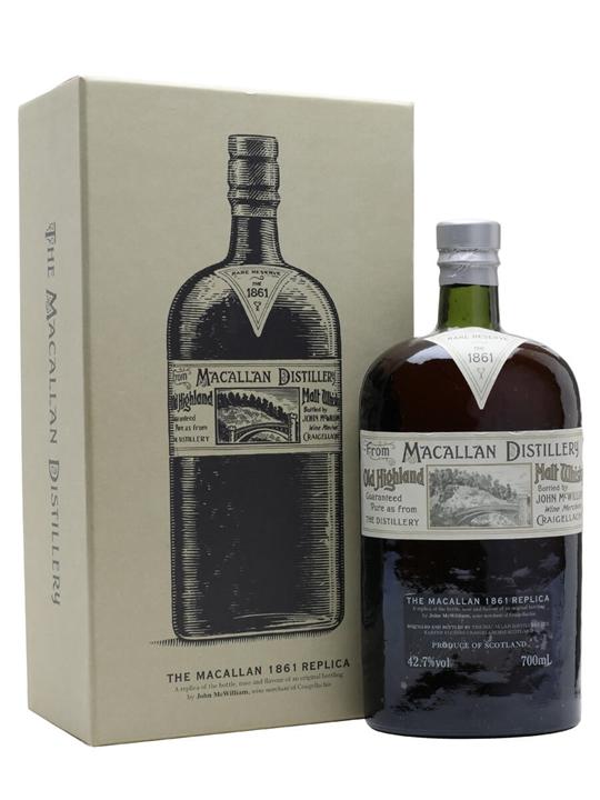 Macallan 1861 Replica Speyside Single Malt Scotch Whisky
