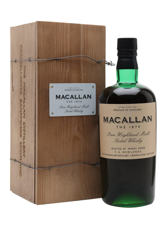 Macallan 1874 Replica Speyside Single Malt Scotch Whisky