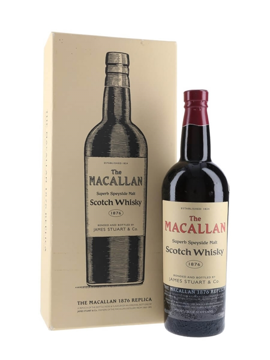 Macallan 1876 Replica Speyside Single Malt Scotch Whisky