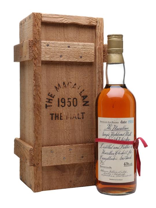 Macallan 1950 / Bot.1981 Speyside Single Malt Scotch Whisky