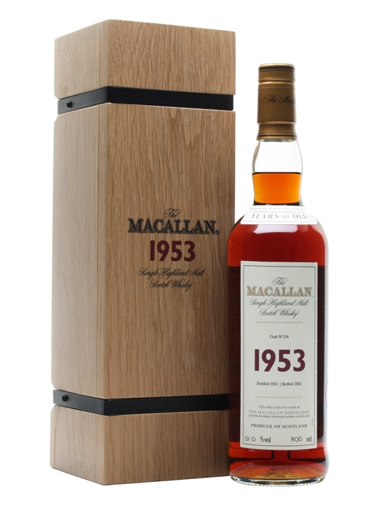 Macallan 1953 / 49 Year Old / Fine & Rare Speyside Whisky
