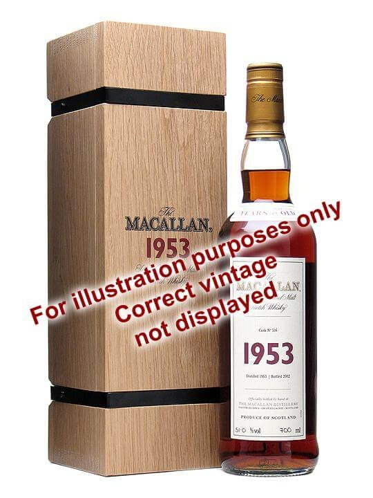 Macallan 1955 / 46 Year Old / Fine & Rare Speyside Whisky