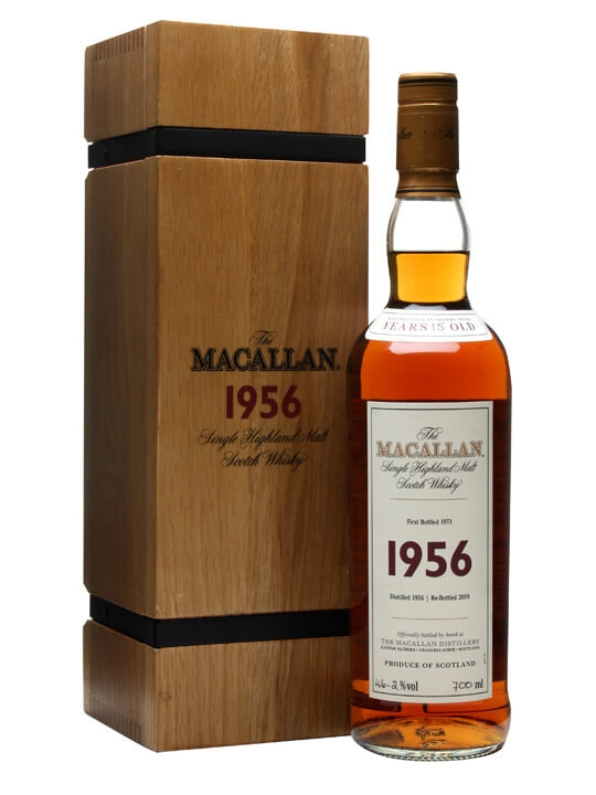 Macallan 1956 / 15 Year Old / Fine & Rare Speyside Whisky