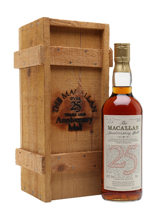 Macallan 1958 / 25 Year Old Speyside Single Malt Scotch Whisky