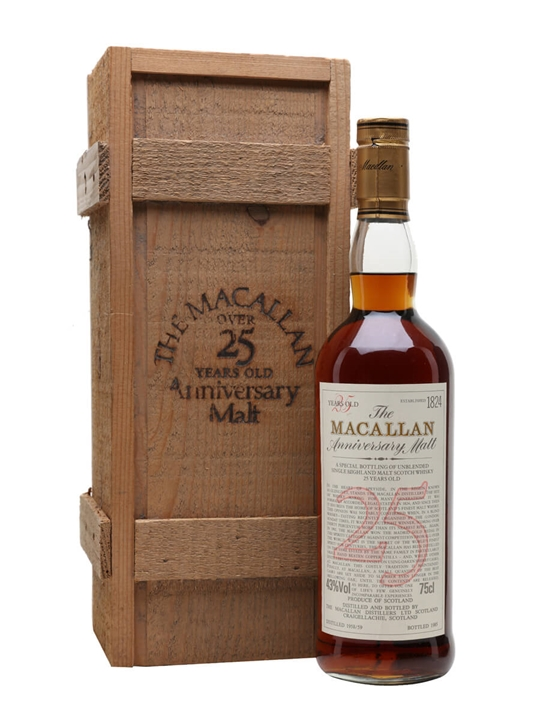 Macallan 1958-59 / 25 Year Old Speyside Single Malt Scotch Whisky