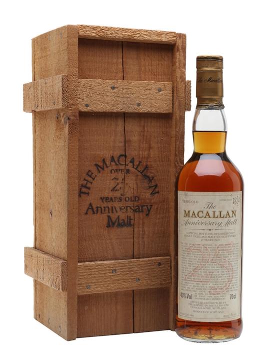 Macallan 1966 / 25 Year Old Speyside Single Malt Scotch Whisky