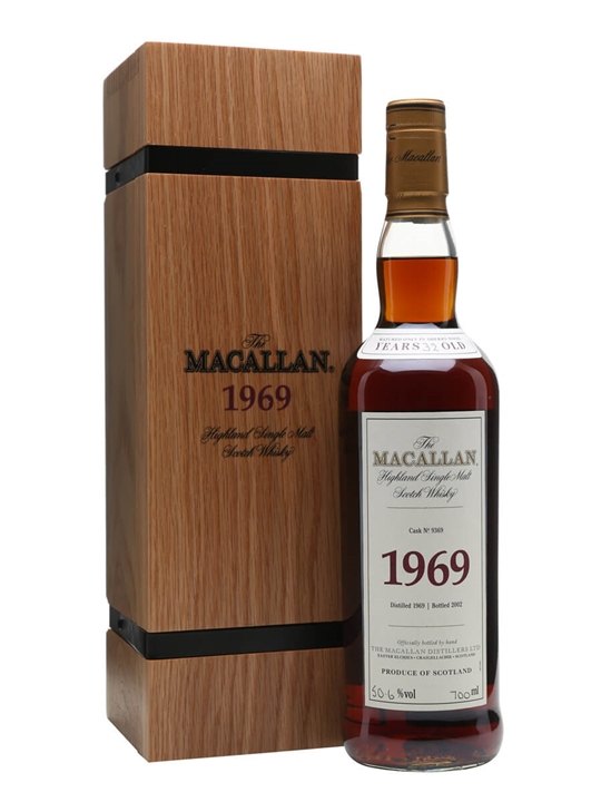 Macallan 1969 / 32 Year Old / Fine & Rare #9369 Speyside Whisky