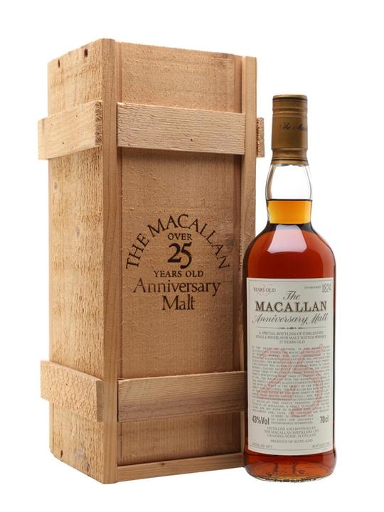 Macallan 1972 / 25 Year Old Speyside Single Malt Scotch Whisky