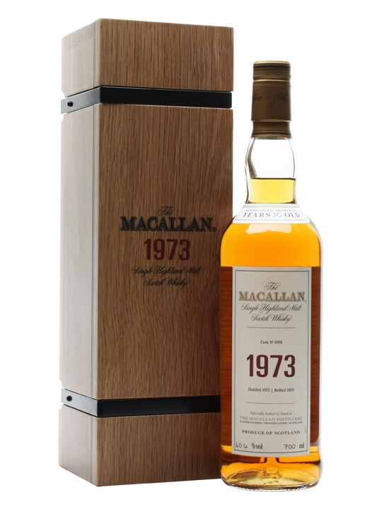 Macallan 1973 / 30 Year Old / Fine & Rare Speyside Whisky