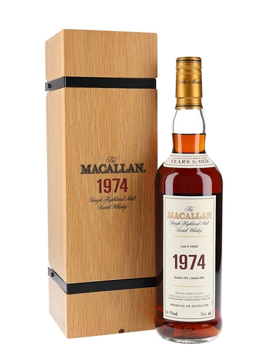 Macallan 1974 / 30 Year Old / Fine & Rare Speyside Whisky