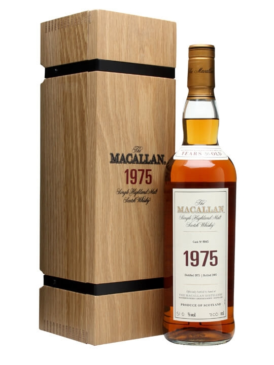 Macallan 1975 / 30 Year Old / Fine & Rare Cask #8845 Speyside Whisky