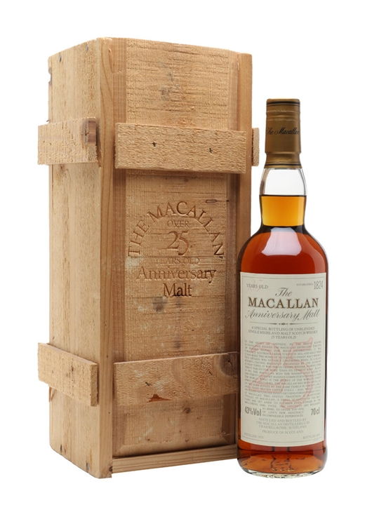 Macallan 1975 / 25 Year Old / Sherry Cask Speyside Whisky