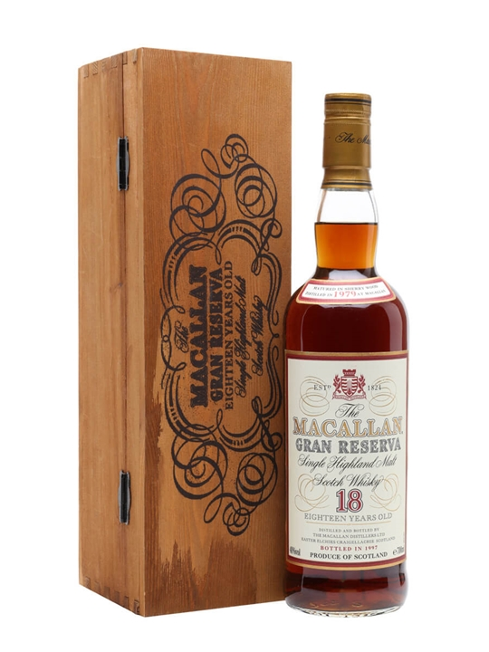 Macallan 1979 / 18 Year Old / Gran Reserva Speyside Whisky
