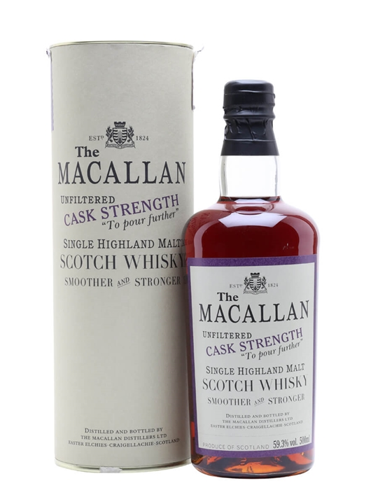 Macallan 1980 / Esc 2 / Sherry Cask Speyside Single Malt Scotch Whisky
