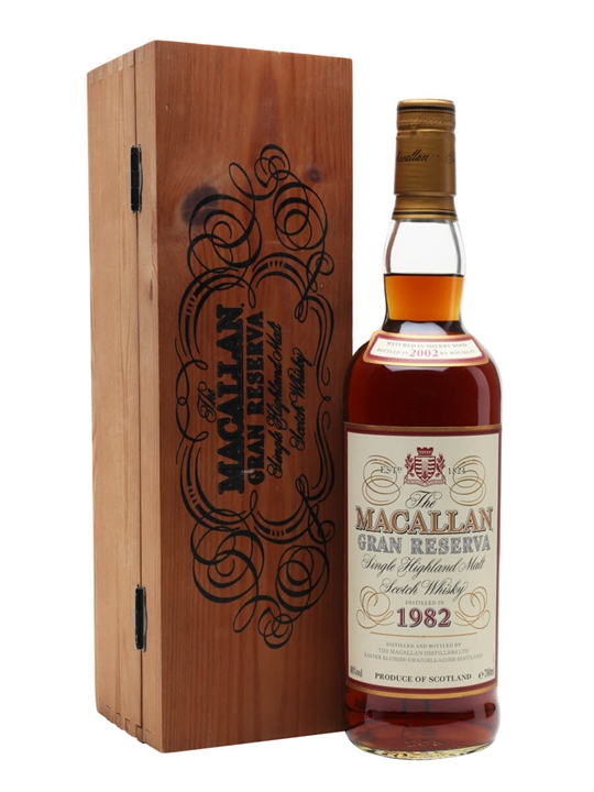 Macallan 1982 / Gran Reserva Speyside Single Malt Scotch Whisky