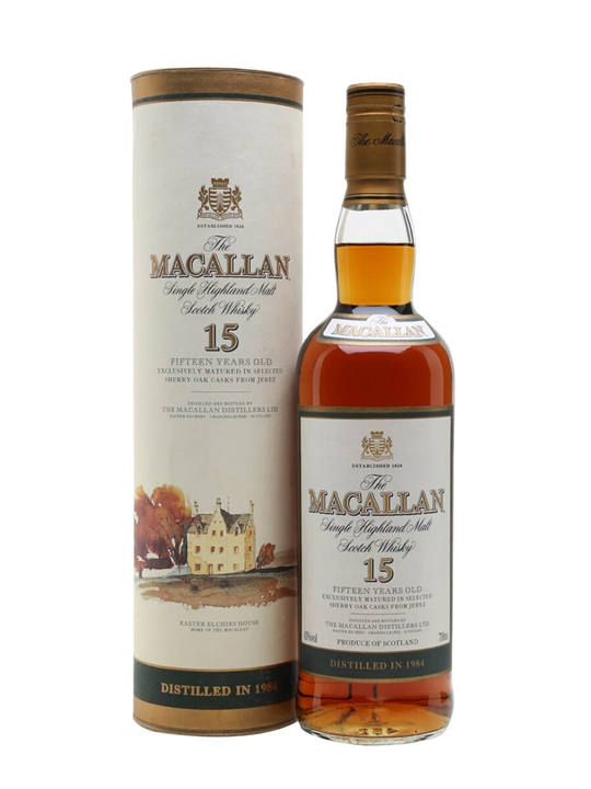 Macallan 1984 / 15 Year Old Speyside Single Malt Scotch Whisky