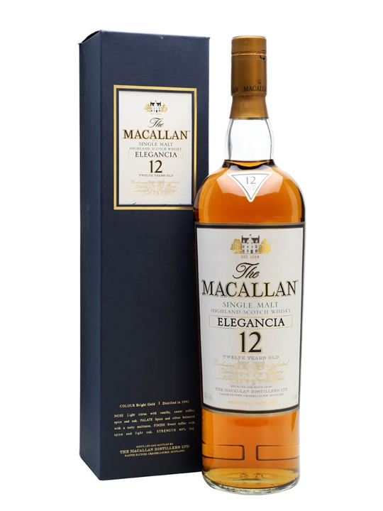 Macallan Elegancia 1992 / 12 Year Old Speyside Whisky