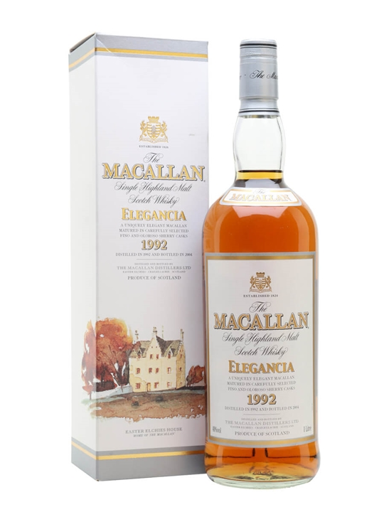 Macallan 1992 Elegancia / Bot.2004 Speyside Single Malt Scotch Whisky