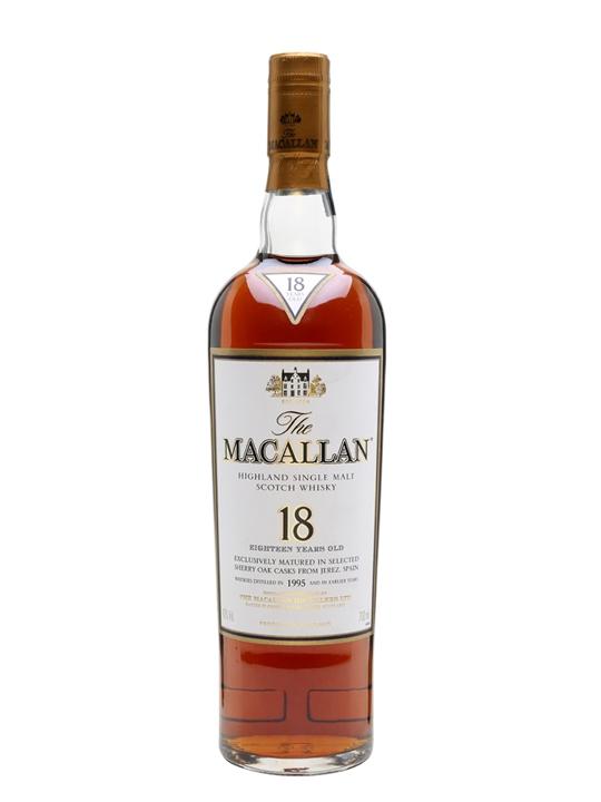 Macallan 1995 / 18 Year Old Speyside Single Malt Scotch Whisky