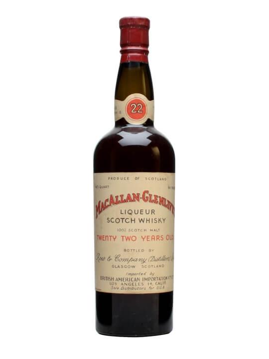 Macallan 22 Year Old Speyside Single Malt Scotch Whisky