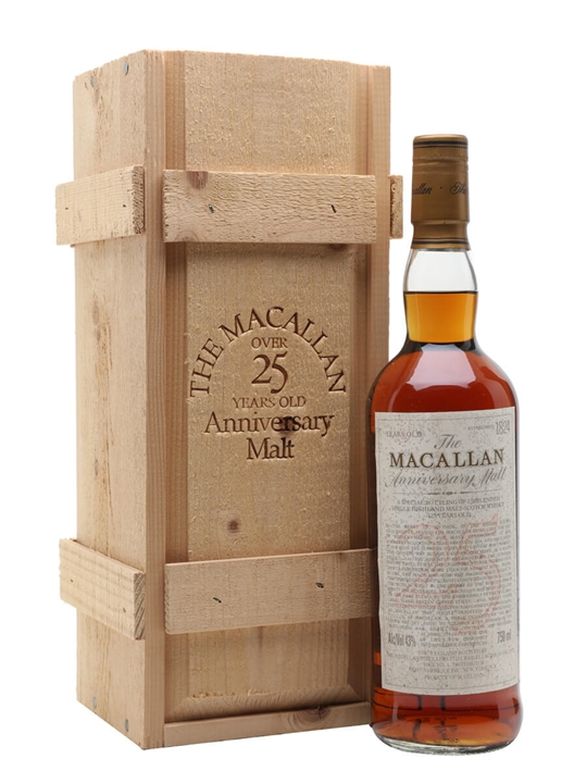 Macallan 25 Year Old / Sherry Oak / Bot.1980s Speyside Whisky