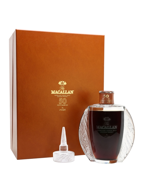 Macallan 50 Year Old / Lalique Crystal Speyside Whisky
