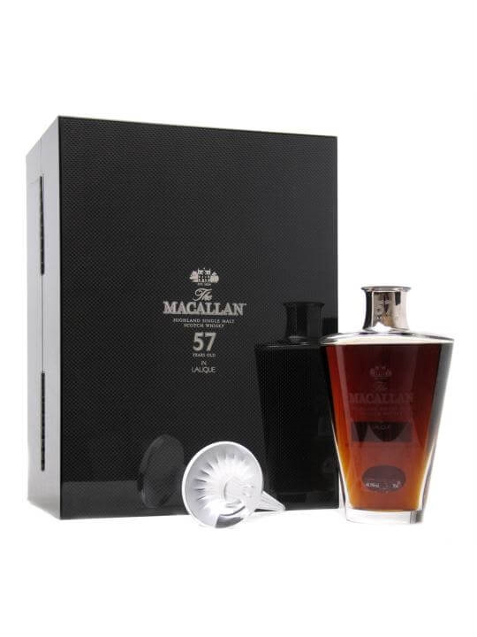 Macallan 57 Year Old Lalique Crystal Speyside Whisky