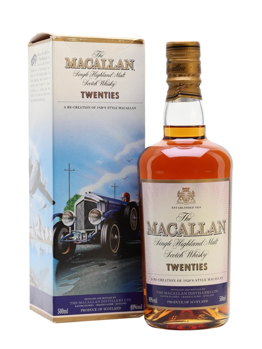 Macallan Travel Series / 1920's Speyside Single Malt Scotch Whisky