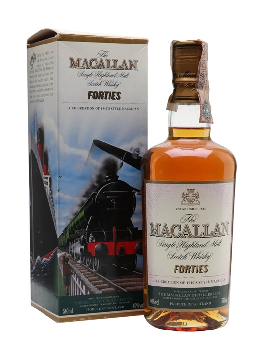Macallan Travel Series 1940s Speyside Single Malt Scotch Whisky