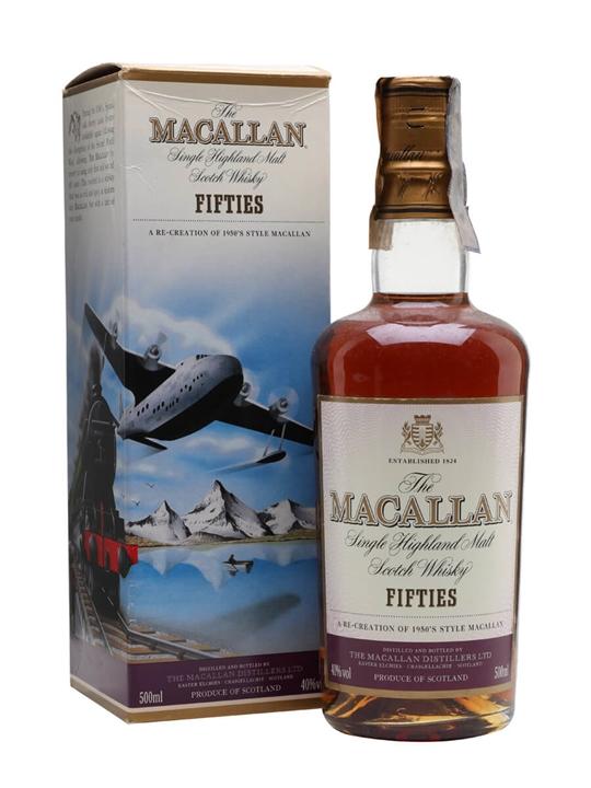 Macallan Travel Series 1950s Speyside Single Malt Scotch Whisky